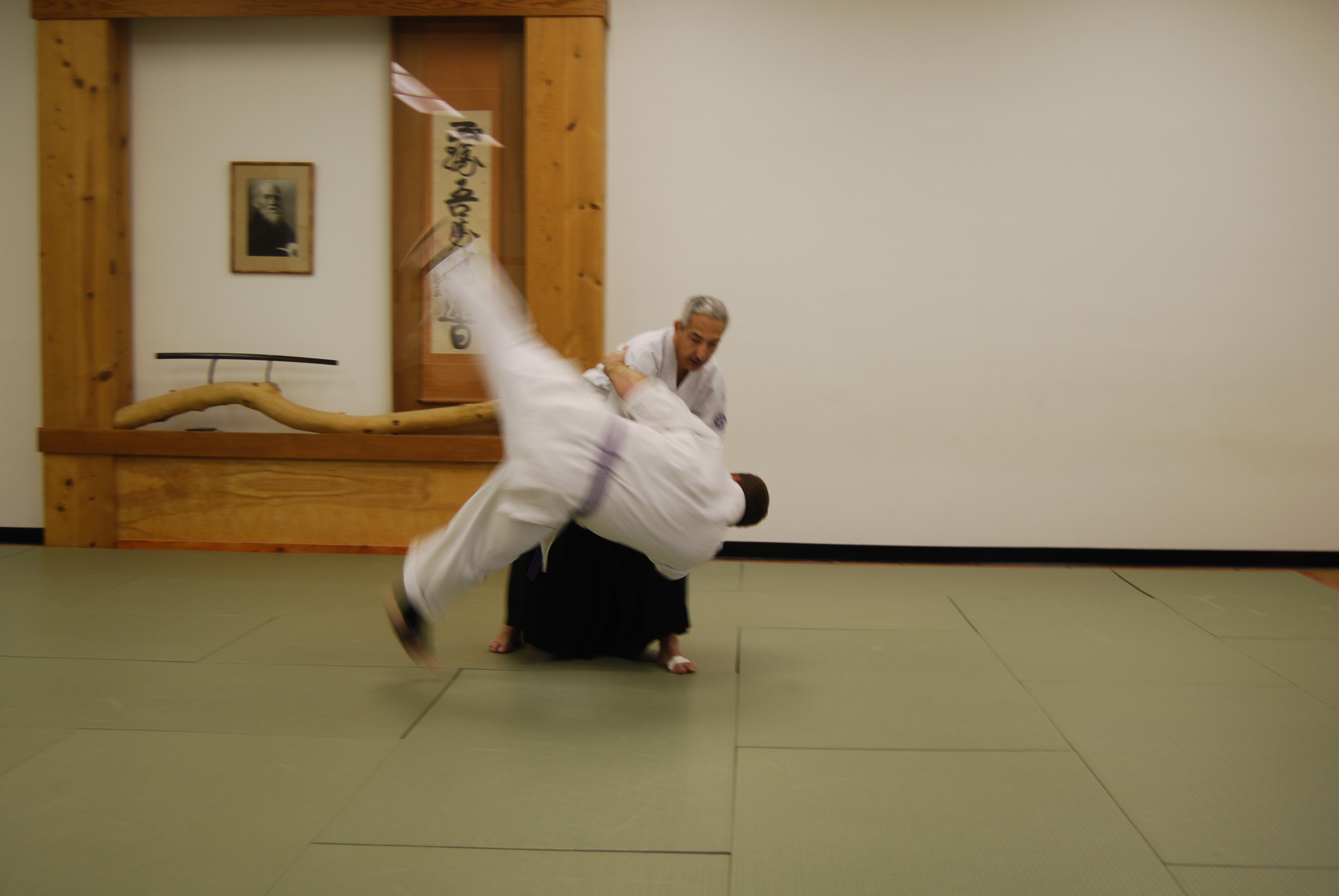 Proper knowledge of ukemi can minimize risk of injury on the mat when Aikido techniques are applied.