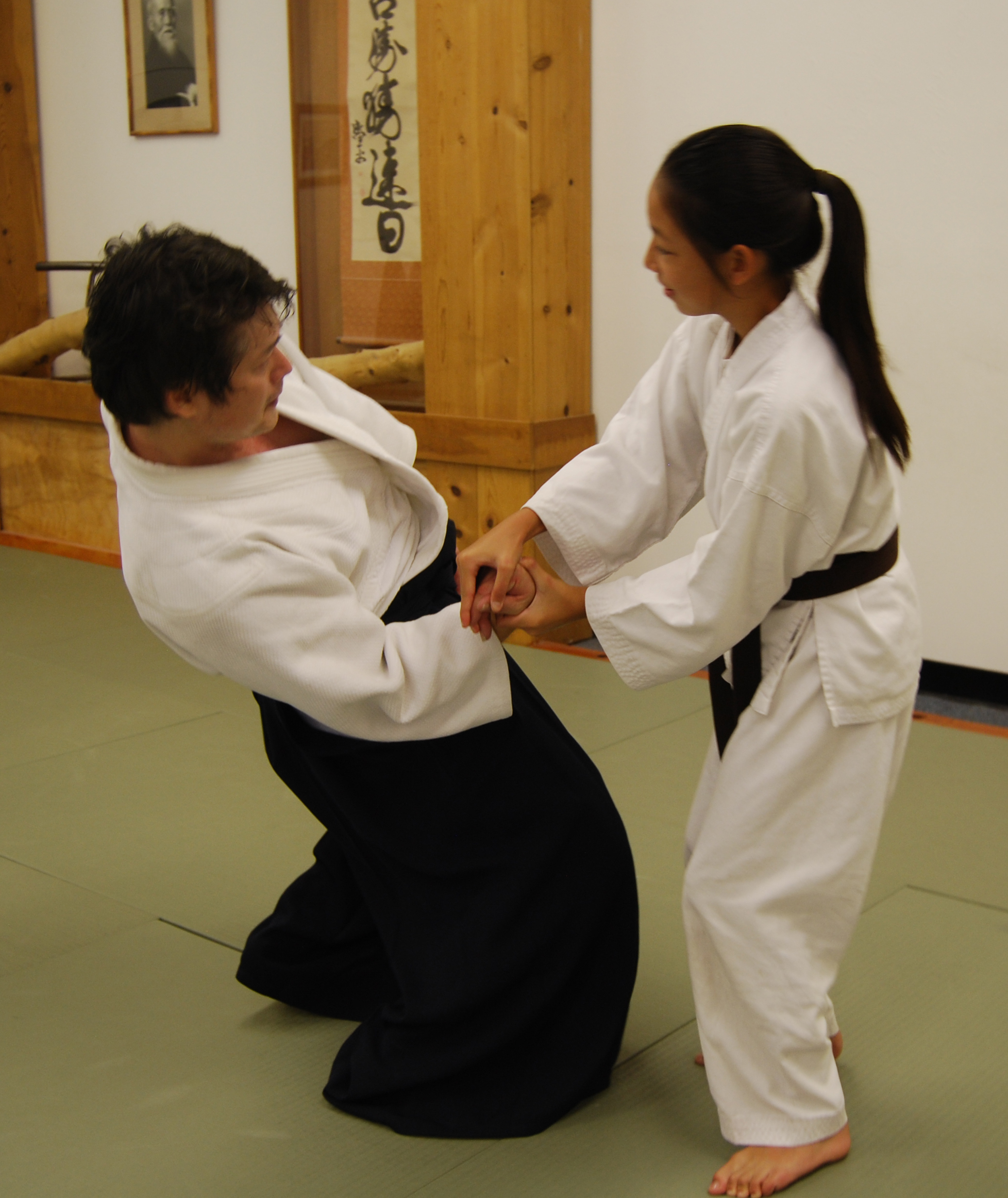 Aikido Techniques Women Are They The Same As Men Aikido411 Aikido Techniques